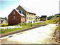 SE0626 : New housing off Ovenden Wood Road by Alexander P Kapp
