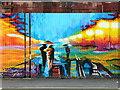 SO5924 : Mural on Trenchard Street, Ross-on-Wye : Week 23