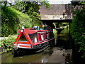 SJ9003 : Narrowboat in Marsh Lane Narrows, Wolverhampton by Roger  Kidd