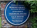 Photo of Robert Graves blue plaque