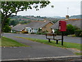 SY4691 : Bothenhampton: postbox № DT6 58, Valley Road by Chris Downer