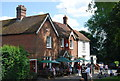 TQ6452 : The Swan, Village Green, West Peckham by Nigel Chadwick