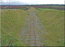 N1431 : Peat bog railway Co.Offaly by Dennis Turner