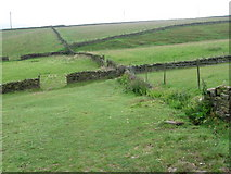 SE1107 : Footpath near Holmbridge by Chris Wimbush
