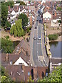 SO7193 : Old Severn Bridge by Gordon Griffiths