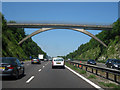 TQ5060 : Bridge over M25 by Oast House Archive