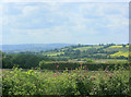 ST6365 : 2009 : South west from the top of Publow Hill by Maurice Pullin