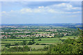 ST6066 : 2009 : North east from Maes Knoll by Maurice Pullin