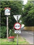 TQ9549 : Charing Village Sign by David Anstiss