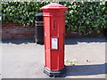 TM2863 : College Road Victorian Postbox by Adrian Cable