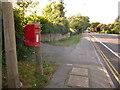 SZ0094 : Broadstone: postbox № BH18 122, Lower Blandford Road by Chris Downer