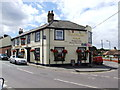 TQ7171 : Gardeners Arms, Higham by Chris Whippet