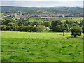 SJ9896 : Panorama From Dewsnap Lane by Peter Whatley