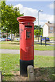 SU4712 : Pillar Box, Ellwood Avenue, Thornhill by Peter Facey