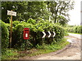 ST8214 : Fontmell Parva: postbox № DT11 142 by Chris Downer