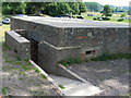 TQ7825 : WWII Pillbox at Bodiam Castle by PAUL FARMER