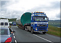NG3636 : Parts of the new wind farm arrive by Richard Dorrell