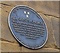 Photo of All Saints Church, Newcastle and David Stephenson black plaque
