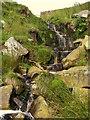 NY9217 : Gill Sike Waterfall : Week 30