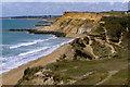 SZ2592 : Coastline east of Barton on Sea : Week 30