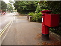 SZ0691 : Branksome: postbox № BH13 136, Lindsay Road by Chris Downer