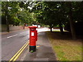 SZ0589 : Canford Cliffs: postbox № BH13 233, Haven Road by Chris Downer