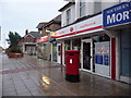 SZ0492 : Parkstone: Ashley Road West Post Office and postbox № BH14 12 by Chris Downer