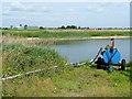 TL4591 : Reservoir at Jenny Gray's Farm by Jonathan Billinger