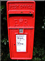 TM3564 : Rendham Hill Postbox by Adrian Cable