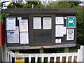 TM3361 : Great Glemham Village Notice Board by Adrian Cable