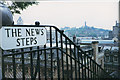 NT2573 : The News Steps, Edinburgh by Stephen Craven