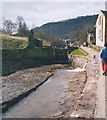 SD9827 : The Rochdale Canal, empty by Stephen Craven