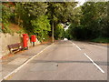 SZ0491 : Parkstone: postbox № BH14 130, St. Osmund's Road by Chris Downer