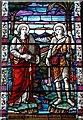 ST5393 : St Mary's Priory church, Chepstow - window : Week 32