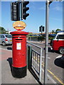 SZ0487 : Sandbanks: postbox № BH13 239 by Chris Downer
