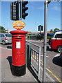 SZ0487 : Sandbanks: postbox № BH13 239 by Chris Downer