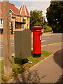SZ0391 : Parkstone: postbox № BH14 64, Wyndham Road by Chris Downer