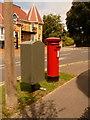 SZ0391 : Parkstone: postbox № BH14 64, Wyndham Road by Chris Downer