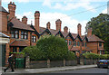 SK5641 : Norris Almshouses by Alan Murray-Rust