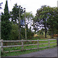 TM3674 : Electricity Pole in Peasenhall Road by Adrian Cable