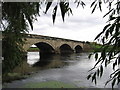 SK2927 : Willington - Bridge by Dave Bevis