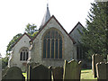 TQ2953 : St Katharine's church Merstham:  east end by Stephen Craven
