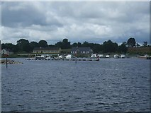 M9660 : Moorings and jetty at Portrunny by Adie Jackson