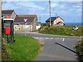 SW7150 : Road junction at Higher Bal by Rod Allday