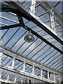 NZ2642 : Roof detail, platform 2, Durham Railway Station : Week 36