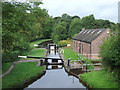 SJ9151 : Stockton Brook Top Lock, Staffordshire by Roger  Kidd