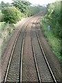 NS6963 : Railway to Coatbridge by Robert Murray