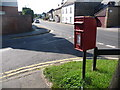 SY4792 : Bridport: postbox № DT6 7, East Road by Chris Downer