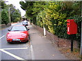 TM3977 : B1123 Holton Road & Hope Terrace Postbox by Adrian Cable