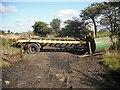 NS8068 : Blocked road by Richard Webb